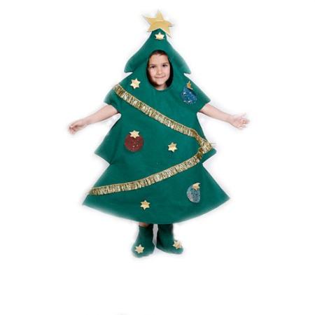 Disfraz casero para Navidad: Árbol de Navidad