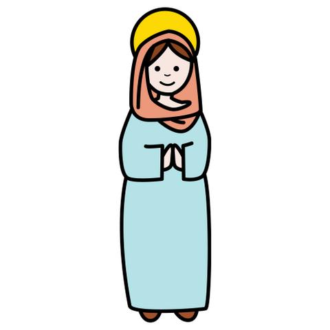 disfraz casero para navidad virgen maria y san jose