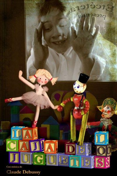la caja de los juguetes un musical con titeres para los mas pequeños de la casa