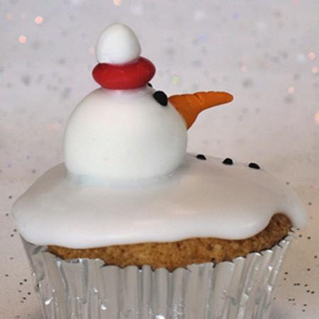 receta de navidad magdalenas nevadas