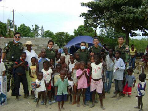 Por el momento la adopción en Haití no es posible