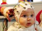 Bebé de cuatro meses, participa en estudio sobre el cerebro