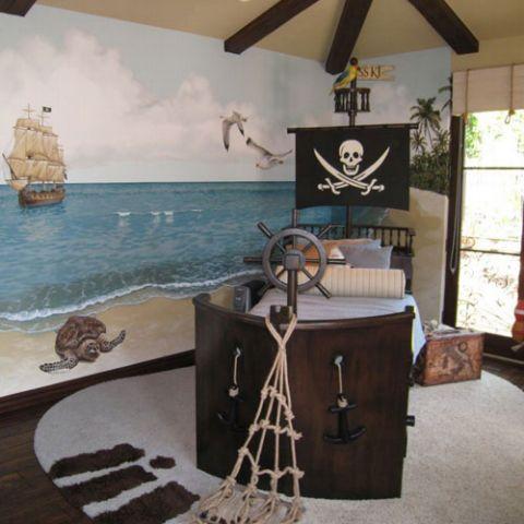 cama pirata Posh tots