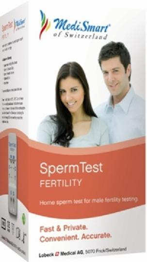 Un test casero de fertilidad masculina estará disponible en breve