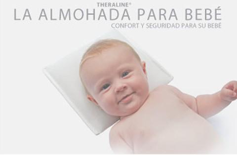 Nueva almohada para el bebé recién nacido