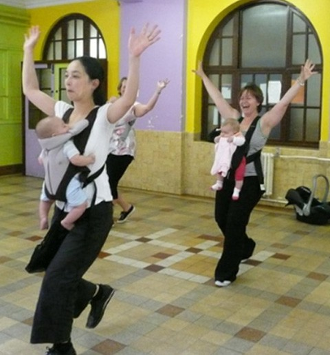 Escuelas de baile para mamás y bebés