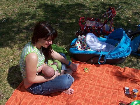 Un 75 por ciento de las estadounidenses dan el pecho a sus bebés