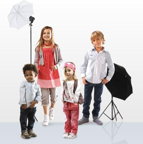 Casting para bebés y niños, para la firma de ropa Tape à l'oeil
