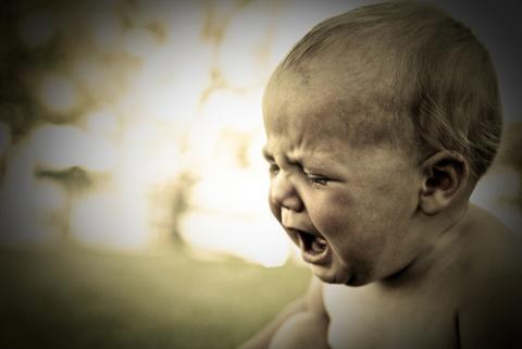 Cómo quitar el estrés de un bebé