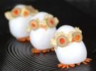 Receta para niños: Buhitos de huevo