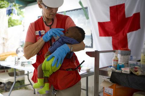 Adoptada la primera niña haitiana
