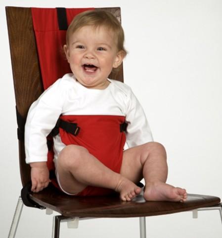 Una silla para el bebé que se guarda en el bolsillo