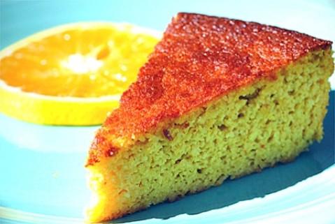 receta para niños bizcocho de naranja sin gluten