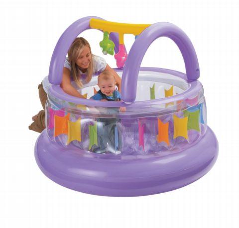 Corralito inflable para beb s for Piscina de bolas para bebes