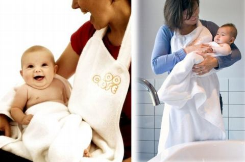 Delantal toalla para el baño, de MamyYo