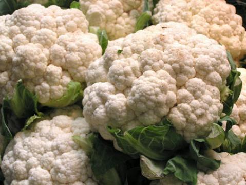 la coliflor, alimento ideal para el embarazo