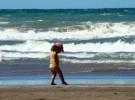 La playa, la arena y los peques
