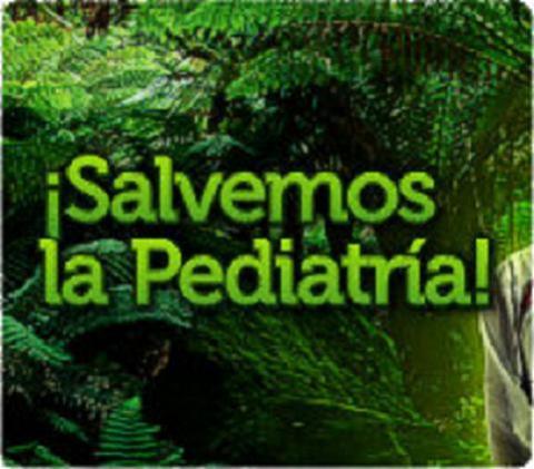 Salvar la pediatría, campaña de los profesionales