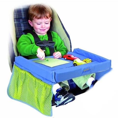 bandeja de juegos para viajar con niños