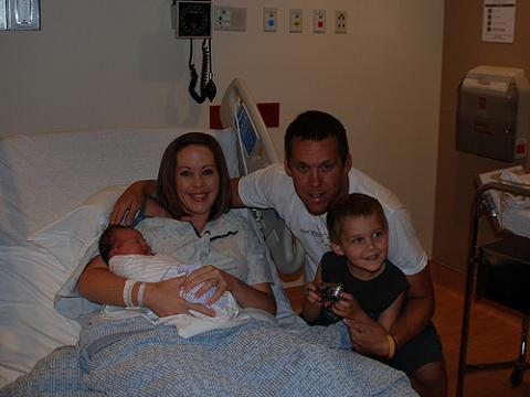 Las primeras visitas al recién nacido y la actitud de los padres