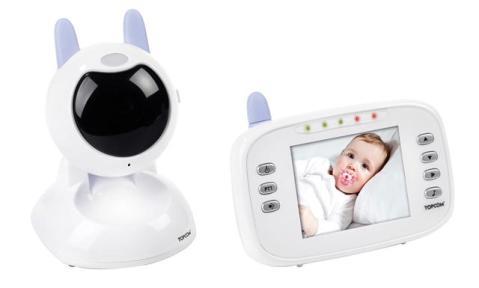 babyviewer 4500, lo ultimo en tecnología digital para vigilar al bebe