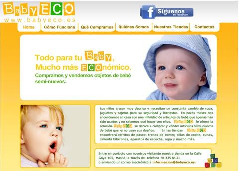 BabyECO compra y vende artículos de bebé seminuevos