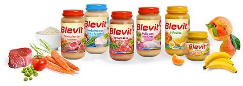Tarritos Blevit, alimentación complementaria con efecto bífidus