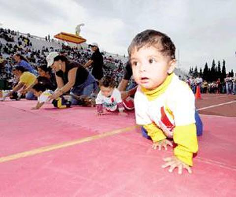 Carreras de bebés en México