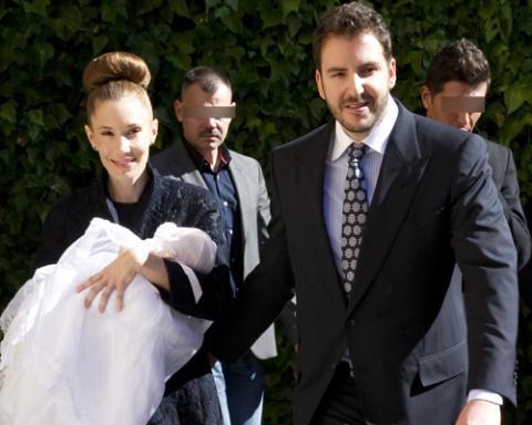 Blanca y Borja Thyssen bautizan a su segundo hijo