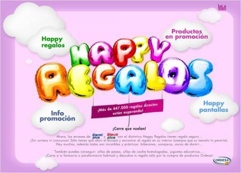 Ordesa pone en marcha la promoción: Happy Regalos
