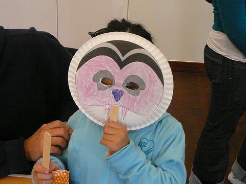 Manualidades con niños: Máscaras caseras de Halloween