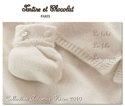 Tartine et Chocolat, la moda de siempre para el bebé