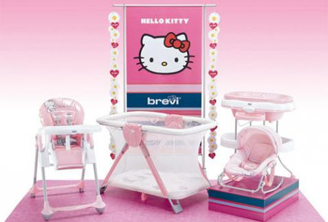 Parque, trona, bañera, sillita… todo de Hello Kitty_2