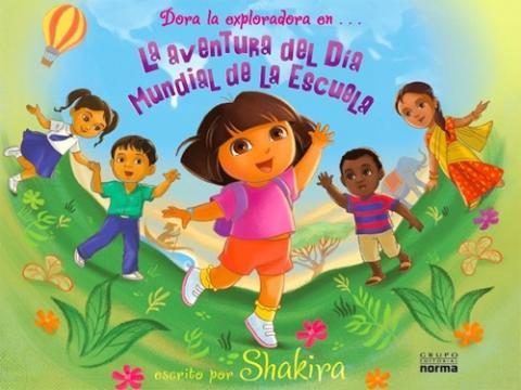 Shakira se lanza a la escritura con un cuento de Dora