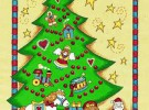 Decorar un árbol de Navidad con cositas del bebé