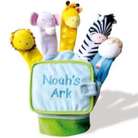 el arca de noe, libro-marioneta para el bebe