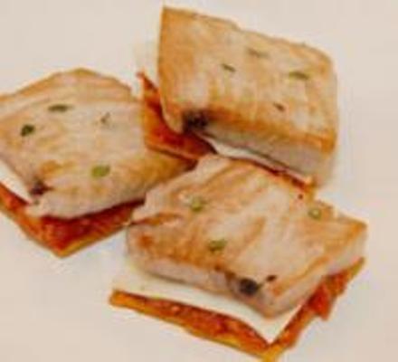 receta para niños: mini pizza con atun