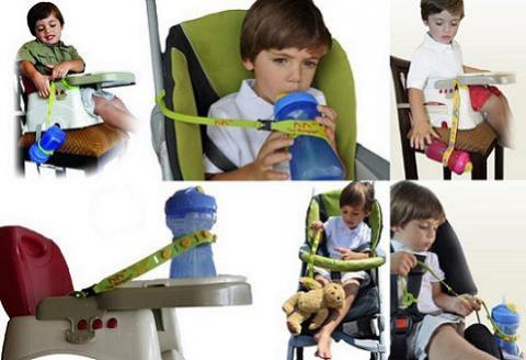 Toy Bungee, un invento para que los juguetes no lleguen al suelo