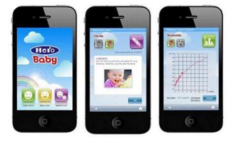 La nueva aplicación de Hero Baby te ayuda a cuidar a tu bebé