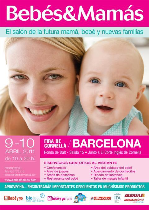 El 9 y el 10 de abril vuelve la Feria de Bebés&Mamás a Barcelona