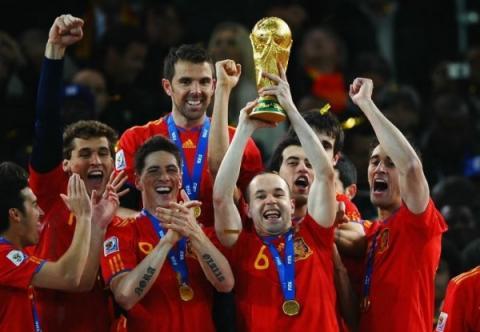 A los nueve meses del gol de Iniesta se llenan los paritorios