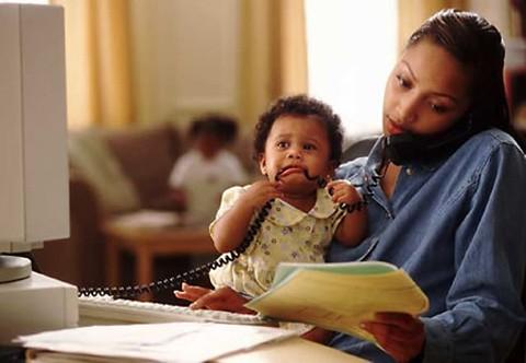 Felicidades a todas las trabajadoras mamás