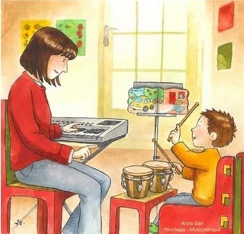 La musicoterapia potencia las capacidades de los niños