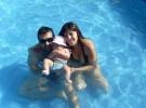 Cuidados de los bebes en la piscina