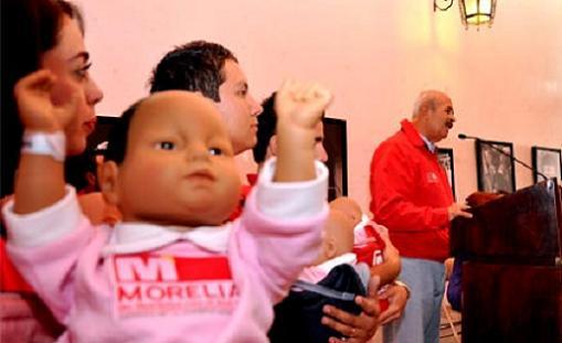 Bebés virtuales para prevenir embarazos