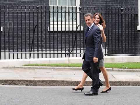 Sarkozy y Bruni, embarazados