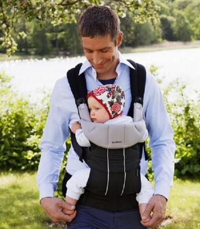 Probamos la Comfort Carrier de BabyBjörn