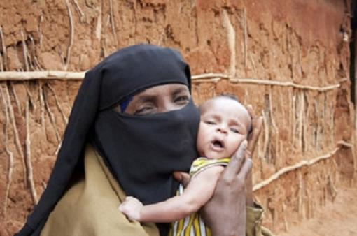 La situación en Somalia provoca el abandono de bebés