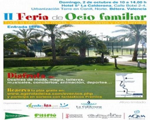 Agenda de Isa organiza la II Feria de ocio familiar