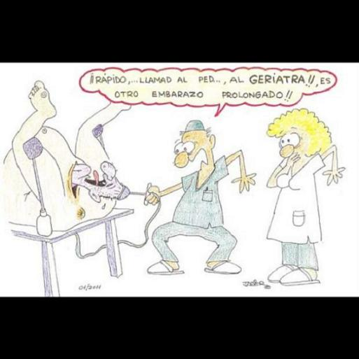 Polémica sobre las viñetas humorísticas de un ginecólogo